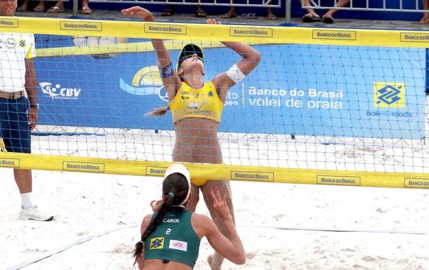 Circuito Open de Vôlei de Praia / AL (Foto: Viviane Leão/GLOBOESPORTE.COM)