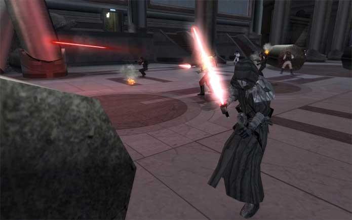 Os personagens de Old Republic no mod de Star Wars (Foto: Reprodução/ModDB)