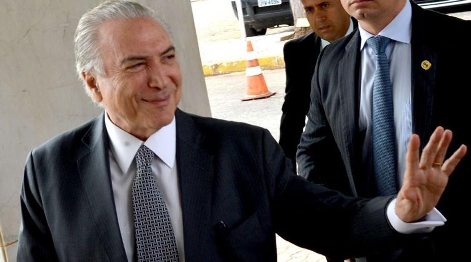 Michel Temer assume presidência  (Foto: Antonio Cruz/Agência Brasil)