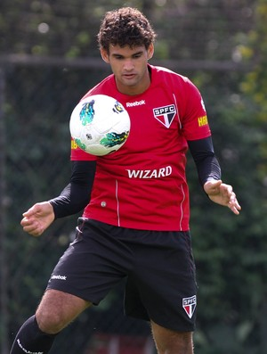 Willian José treino São Paulo (Foto: Luiz Pires/VIPCOMM)