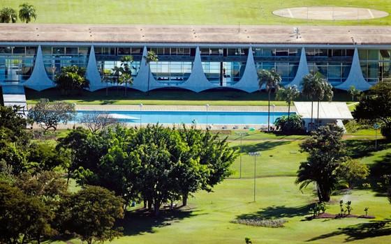Jardim do Pálacio da  Alvorada (Foto:  Lula Marques/Folhapress)