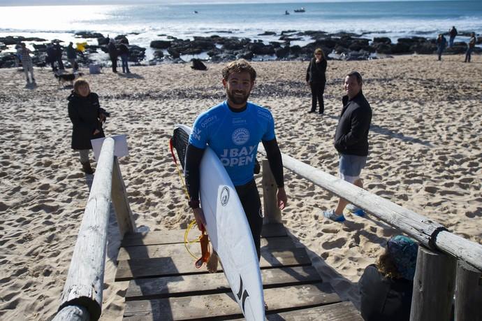 Alejo Muniz na 2ª fase da etapa de Jeffreys Bay (J-Bay) Mundial de Surfe (Foto: WSL / Kirstin)