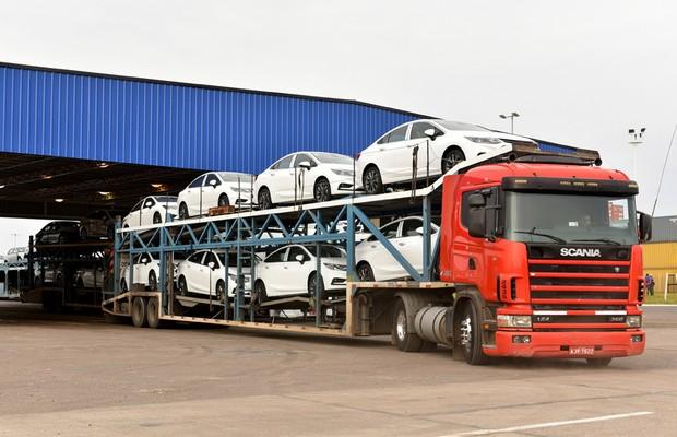 Exportação Chevrolet Cruze (Foto: Divulgação)