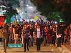 Suspeito de depredar viatura da polícia em protesto em SP é preso