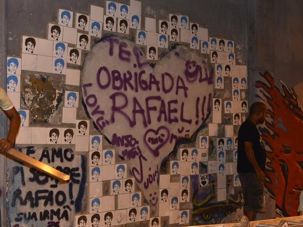 Túnel Acústico Rafael Mascarenhas na Zona Sul do Rio (Foto: André Muzell/ Ag. News)