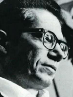 Esta é a última foto oficial de Dalton Trevisan, tirada em 1972 (Foto: Reprodução Globo News)