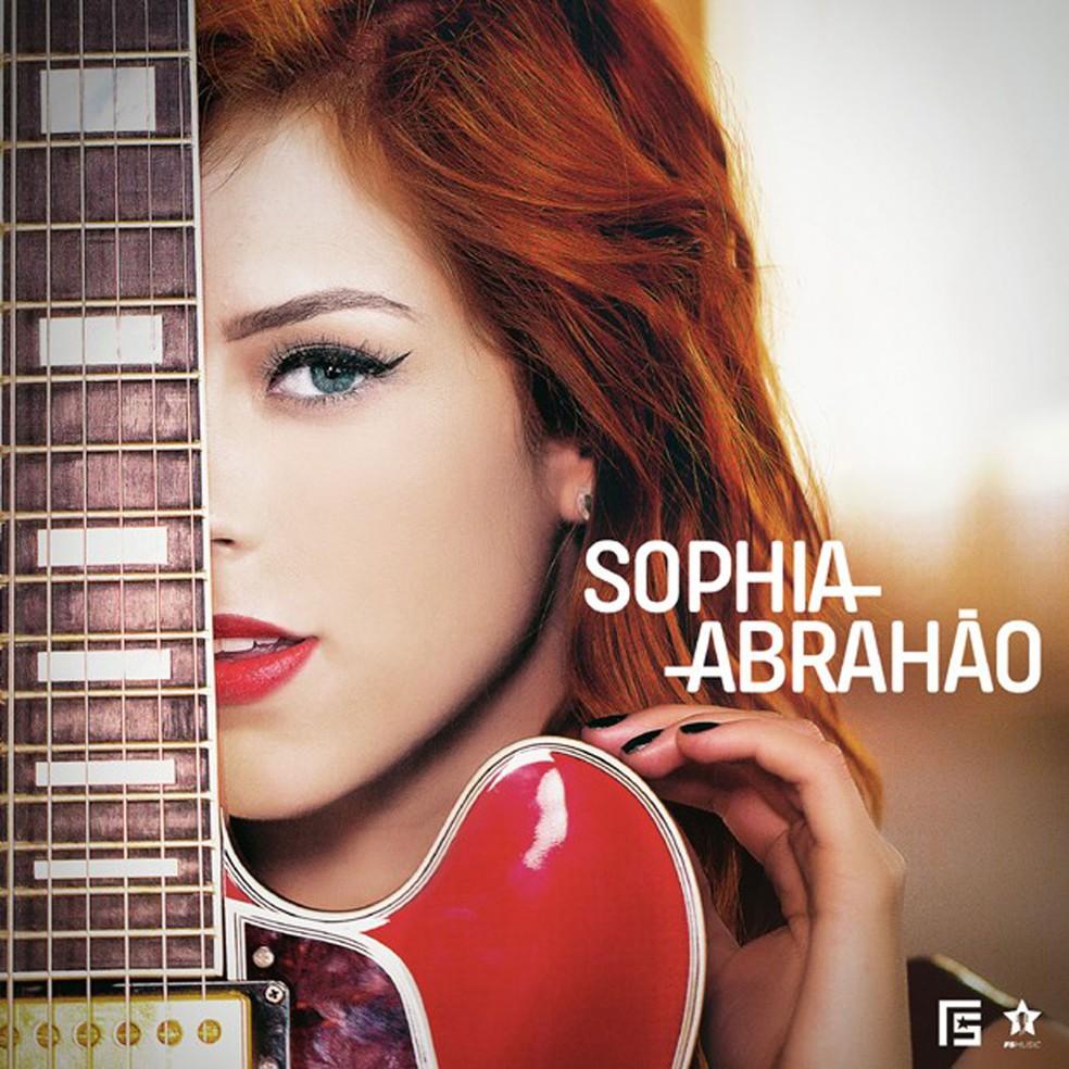 Capa do disco de Sophia Abrahão (Foto: Divulgação)