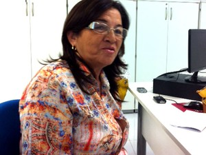 Dinorá Simas, nova diretora da Coape (Foto: Arthur Barbalho/G1)