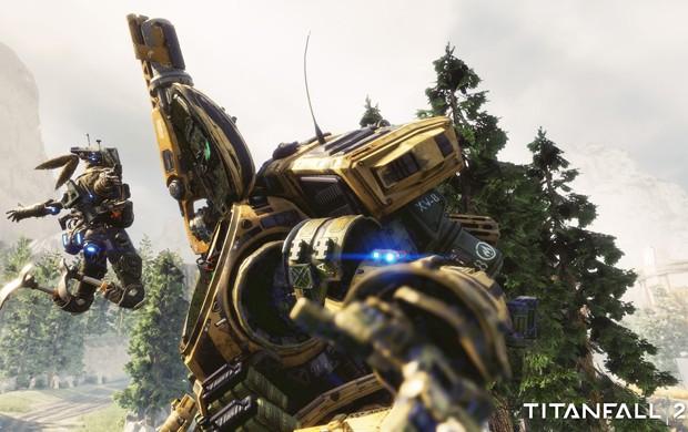 'Titanfall 2' ouviu fãs do game de tiro e terá campanha para um jogador (Foto: Bruno Araújo/G1)