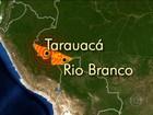 Forte terremoto atinge a região Norte do Brasil