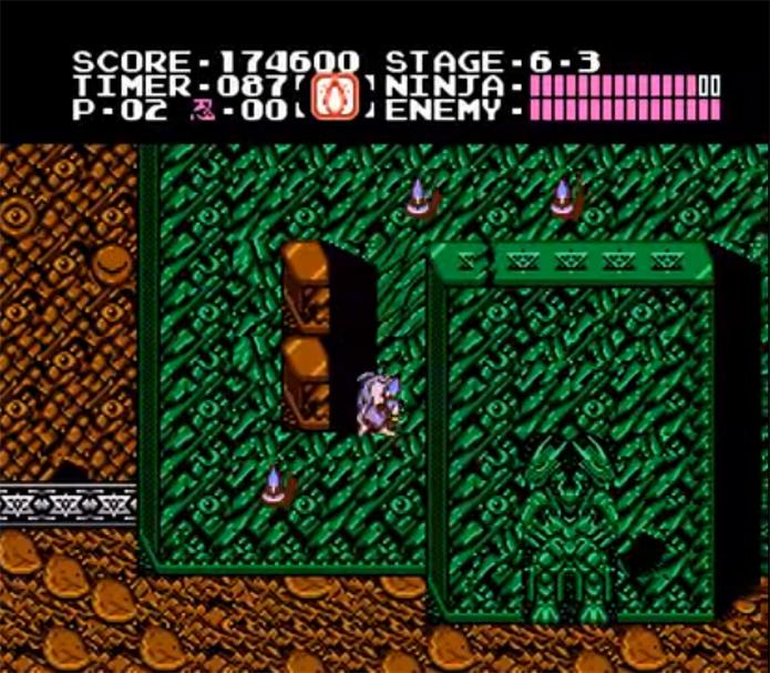 Última fase de Ninja Gaiden se passa numa fortaleza amazônica (Foto: Reprodução/YouTube)
