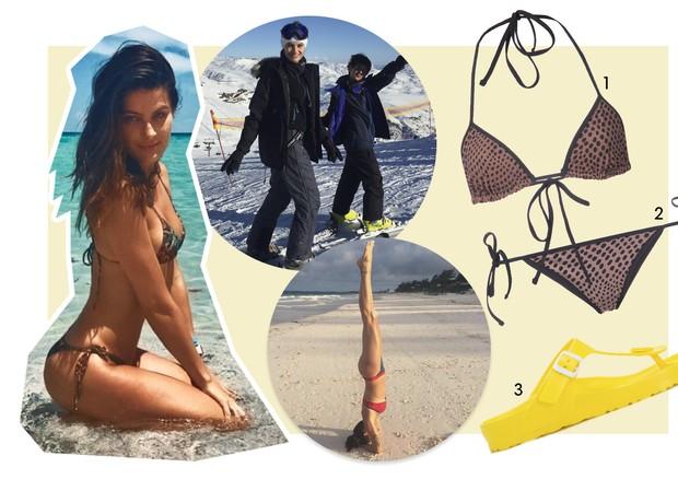 Guia de verão - Isabeli Fontana (Foto: Reprodução/Instagram e Divulgação)