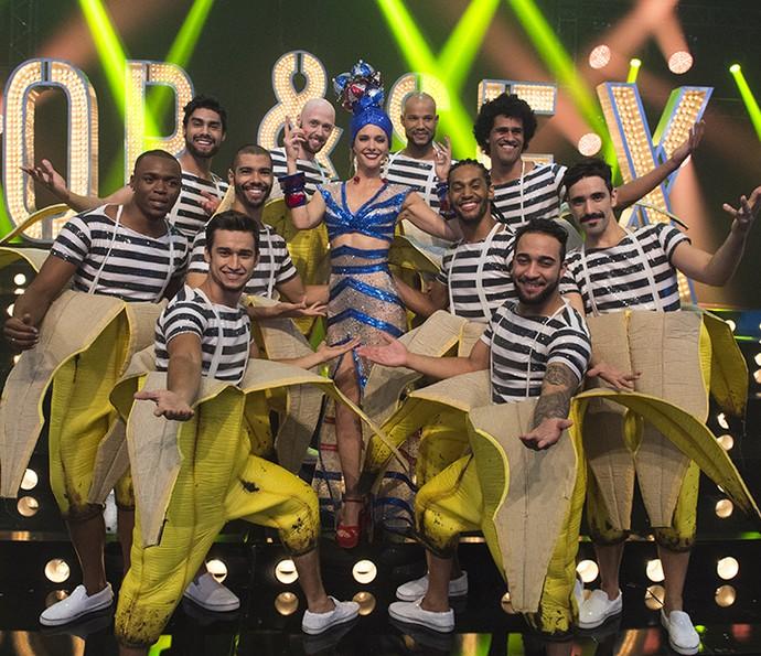 Bailarinos estarão com fantasias de bananas (Foto: Globo/Estevam Avellar)