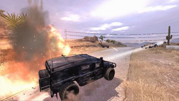 Controle dos veículos de Bond é ruim e fases são curtas. (Foto: Reprodução)
