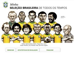 Seleção Brasileira de todos os tempos (Foto: Divulgação)