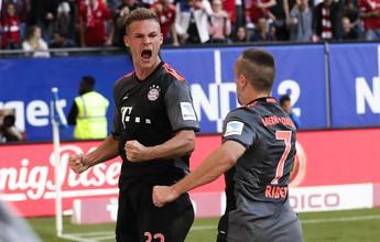 É freguesia: Bayern martela, marca com revelação no fim e segue 100%