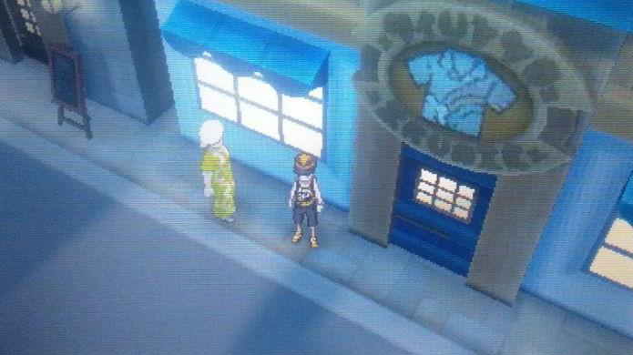 Pokémon Sun e Moon: esta é a loja de roupas (Foto: Reprodução / Thomas Schulze)