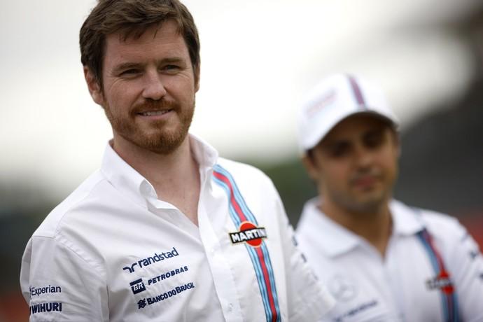 O engenheiro-chefe Rob Smedley diz que Massa e Bottas trabalham em conjunto pela equipe (Foto: Getty Images)