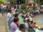 Moradores fazem protesto contra aumento da violência em Machado