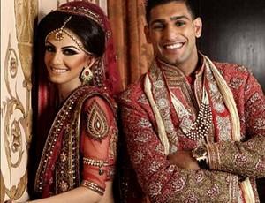 casamento Amir Khan e a noiva Faryal Makhdoom (Foto: Reprodução / Instagram)