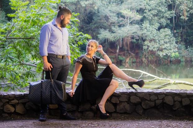 Mateus Boeira e Carol Narizinho (Foto: Vinicius Leandrini/ Studio Yellow)