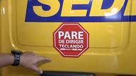 Detran inicia campanha para alertar sobre risco de dirigir e usar o celular