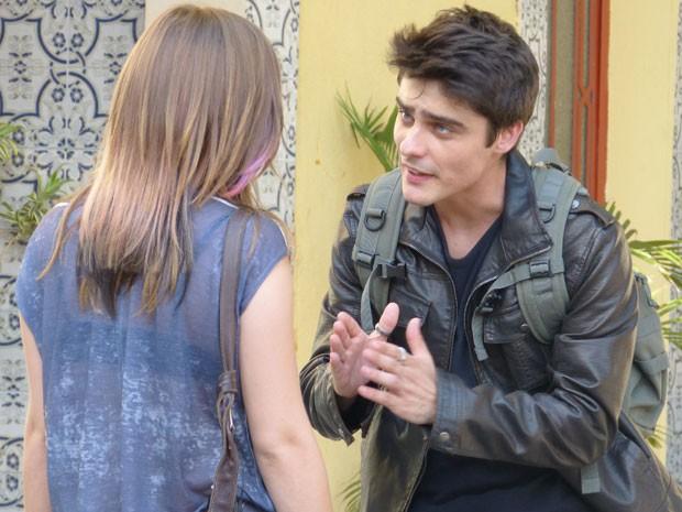 Que dó, que dó! LiTor não pode ficar brigando toda hora não! (Foto: Malhação / Tv Globo)
