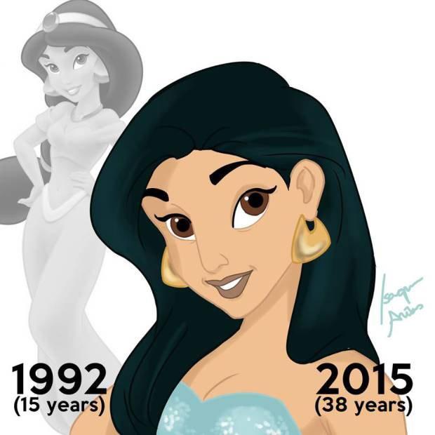 Estudante fluminense recria princesas da Disney com a idade que teriam em 2015 e faz sucesso na web