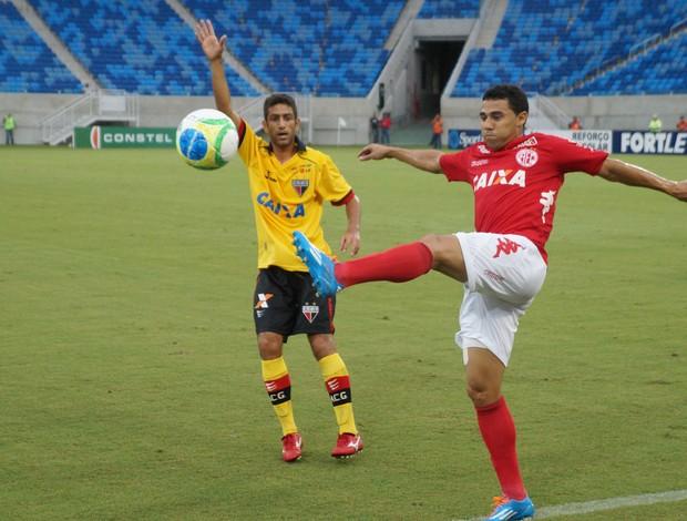 América-RN x Atlético-GO, na Arena das Dunas (Foto: Augusto Gomes)