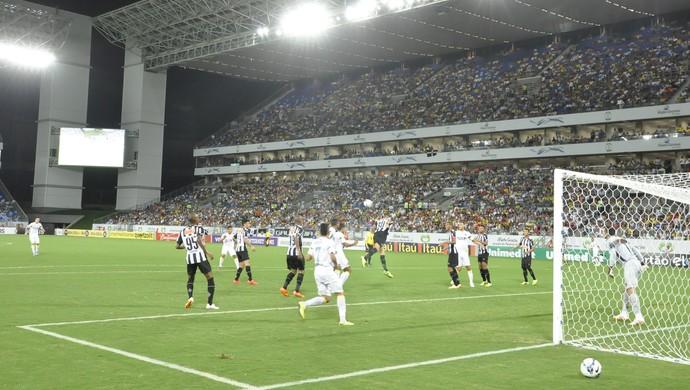 Santos x Atlético-MG (Foto: Christian Guimarães)