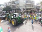 Manifestantes fazem protestos em cidades de SC contra corrupção