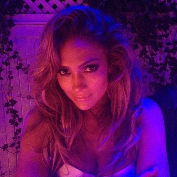 Jennifer Lopez em sua festa de aniversário (Foto: Instagram/ Reprodução)