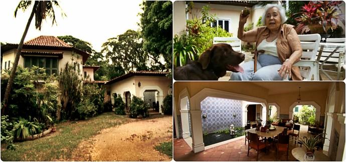 arte casa botafogo (Foto: Reprodução TV Globo)
