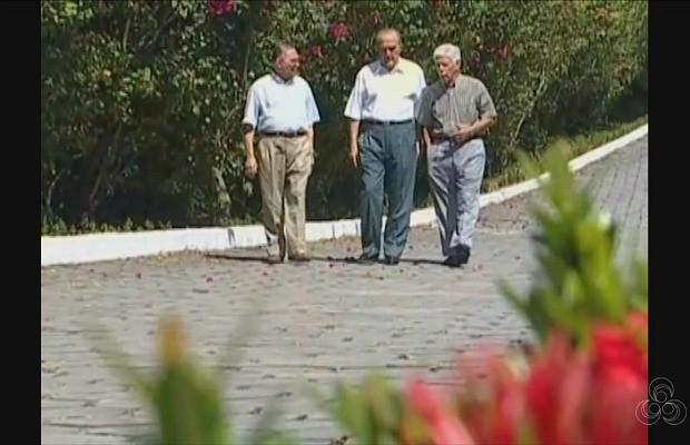 Milton Cordeiro, Phelippe Daou e Joaquim Margarido eram amigos há mais de 60 anos (Foto: Rede Amazônica)