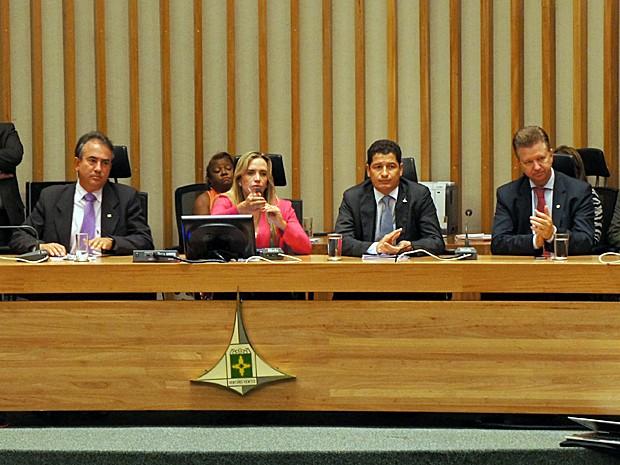 Secretário de Segurança Pública do DF, Sandro Avelar, durante audiência da Câmara Legislativa. (Foto: Ricardo Moreira / G1)