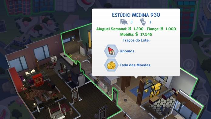Gnomos e Fadas de Moedas são traços positivos para seu apartamento (Foto: Reprodução/Tais Carvalho)