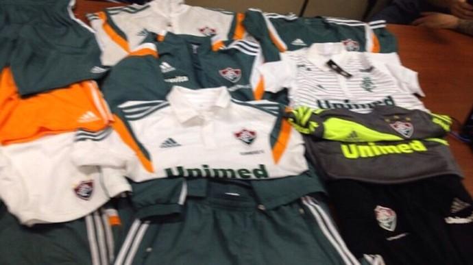 Material Roubado Fluminense (Foto: Divulgação / Site Oficial)