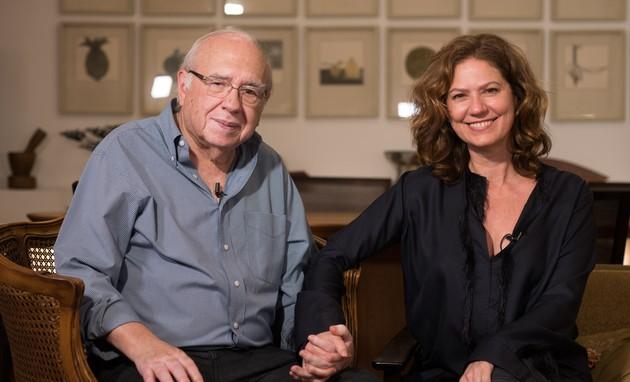 Luis Fernando Verissimo e Patricia Pillar (Foto: Divulgação/Gabriel Panazio)