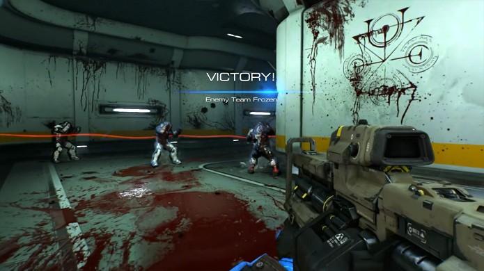 Freeze Tag é um modo multiplayer do novo Doom que lembra brincadeiras de criança (Foto: Reprodução/YouTube)