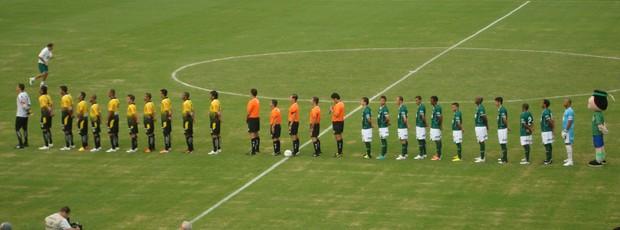 Guarani e São Bernardo empatam pela segunda rodada do Campeonato Paulista (Foto: Marcelo Tasso / Divulgação Guarani)