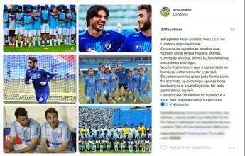 """Jogadores despedem-se do Londrina e fazem um balanço: """"Dever cumprido"""""""