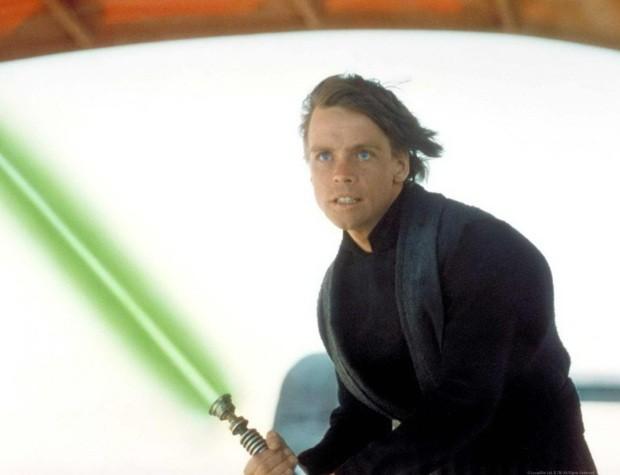 Luke Skywalker em 'O Retorno de Jedi' (Foto: Reprodução)