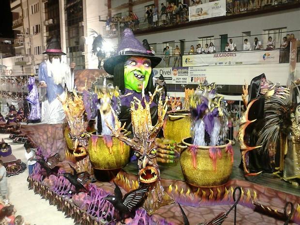 Joaçaba Carnaval (Foto: Victor Hugo Bittencourt/RBS TV)
