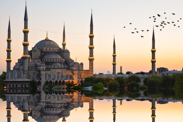 Blue mosque and hagia sophia .. (Foto: Getty Images/iStockphoto)