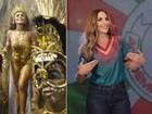 Juliana Paes vai desfilar na Grande Rio para homenagear Ivete Sangalo