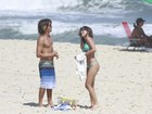 Mais fotos! Mariana Rios exibe corpo sarado em praia do Rio