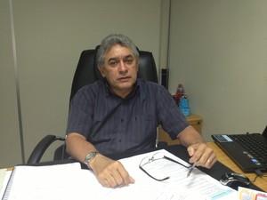 Marcos Drago, Gerente Regional da Eletronorte (Foto: John Pacheco/G1)