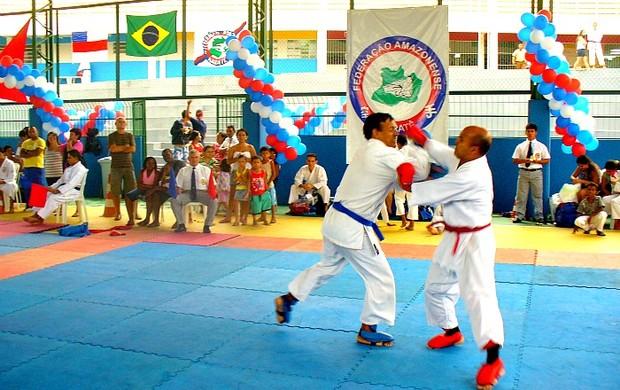 Circuito Amazonense de Caratê=16-04-2012 (Foto: Divulgação)