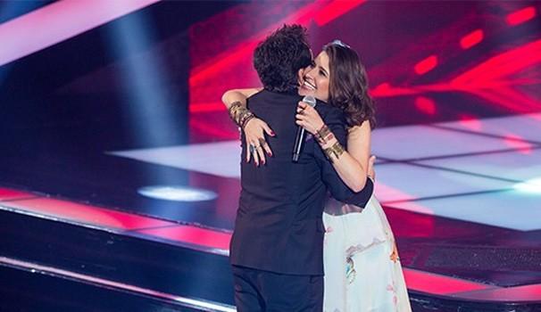 Carla Casarim The Voice (Foto: Isabella Pinheiro/TV Globo)
