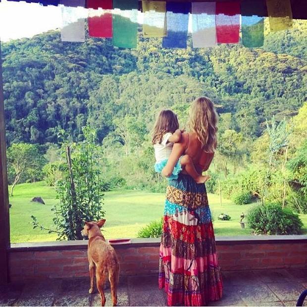 Grazi Massafera e a filha, Sofia (Foto: Instagram/ Reprodução)